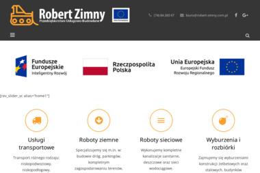 Roboty ziemne i budowlane - Robert Zimny - Roboty ziemne Wałbrzych