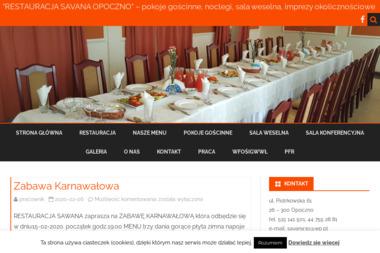 RESTAURACJA SAVANA - Branża Gastronomiczna Opoczno