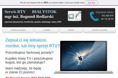 Service RTV Bogumił Redlarski - Naprawy Tv Białystok
