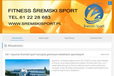 Śremski Sport - Trener personalny Śrem