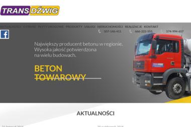 """Przedsiębiorstwo Wielobranżowe """"Transdźwig"""" - Ziemia ogrodowa Tarnobrzeg"""