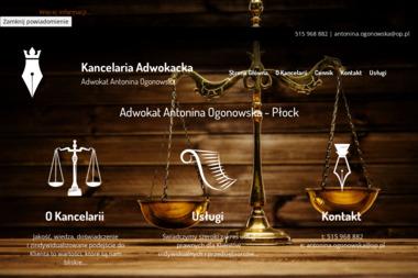 Kancelaria Adwokacka Adwokat Antonina Ogonowska - Adwokat Płock