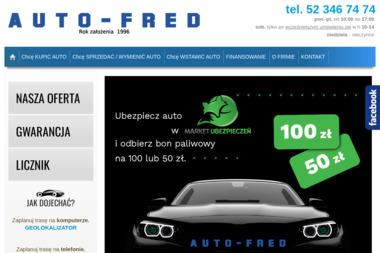 Auto-Fred - Samochody osobowe używane Bydgoszcz