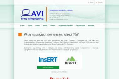 PPHU AVI - Serwis sprzętu biurowego Ostrołęka