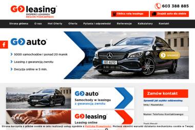 GO-LEASING O/Rzeszów P_Bukowski - Samochody osobowe używane Rzeszów