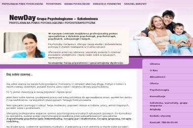 NewDay Grupa Psychologiczno - Szkoleniowa - Psycholog Płock