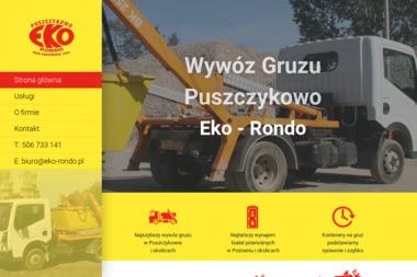 """Eko – Rondo"" s. c. - Transport Gruzu Puszczykowo"