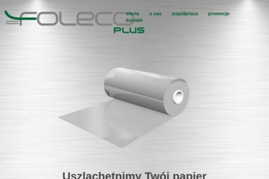 FOLECO PLUS - Laminowanie Poznań