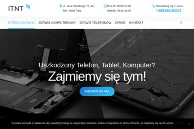 ITNT - Serwis Komputerowy, Naprawa Telefonów, Strony Internetowe - Firma IT Nowy Targ