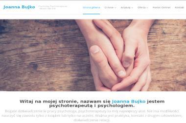 Joanna Bujko - Psycholog, Psychoterapeuta - Psychoterapia Gdańsk