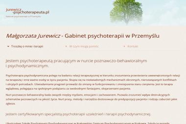 Gabinet Psychoterapeutyczny Małgorzata Jurewicz - Psycholog Przemyśl