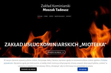 Zakład Kominiarski Moszczak Tadeusz - Czyszczenie Komina Od Dołu Leszno