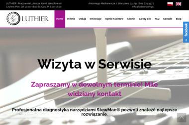 Luthier-Pracownia Lutnicza - Naprawa sprzętu audio Warszawa