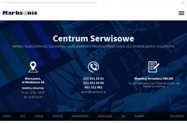 MARKSONIC - Naprawa sprzętu audio Warszawa