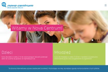 Nova Centrum - Szkoła Języków Obcych / Biuro Tłumaczeń - Nauczyciele angielskiego Ostrzeszów