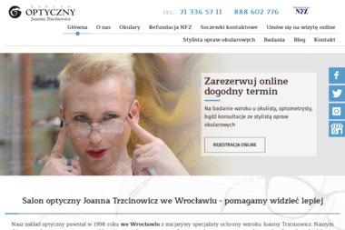 Zakład optyczny Trzcinowicz - Okulary i soczewki Wrocław