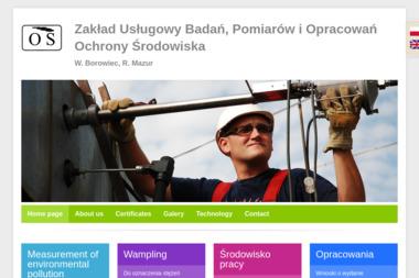 Zak艂ad Us艂ugowy Bada艅, Pomiarów i Opracowa艅 Ochrony 艢rodowiska W.Borowiec, R.Mazur - Ochrona 艣rodowiska Kielce