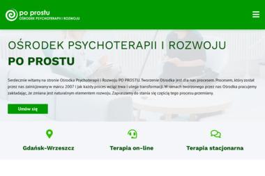 Ośrodek Psychoterapii i Rozwoju PO PROSTU - Gabinet Psychologiczny Gdańsk