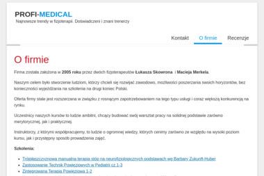 PROFI-MEDICAL - Rehabilitant Ruda Śląska