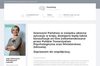 Psycholog Katarzyna Siemieniuch Leśniak - Psycholog Krosno