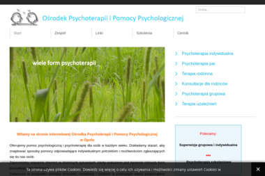 Ośrodek Psychoterapii i Pomocy Psychologicznej - Psycholog Opole