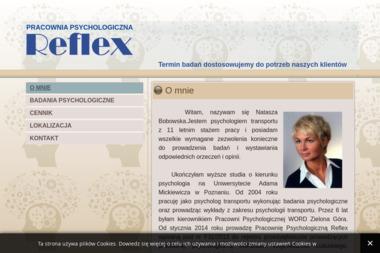 """Pracownia Psychologiczna """"REFLEX"""" - Psycholog Zielona Góra"""