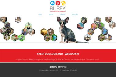 """Sklep zoologiczno-wędkarski """"Rurek"""" - Zoologiczne Poznań"""