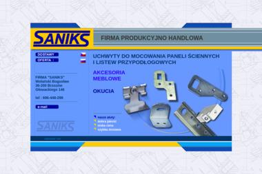 """FIRMA """"SANIKS"""" - Akcesoria Meblarskie Brzozów"""