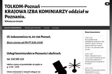 TOLKOM - Czyszczenie Komina Od Dołu Poznań