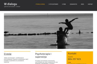 W dialogu - gabinet psychoterapii i rozwoju - Psycholog Włocławek