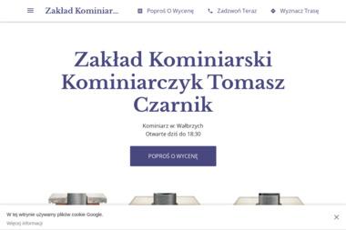 Zakład Kominiarski Kominiarczyk Tomasz Czarnik - Czyszczenie Komina ze Smoły Wałbrzych