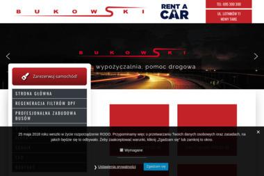 Bukowski Rent a Car - Wypożyczalnia samochodów Nowy Targ