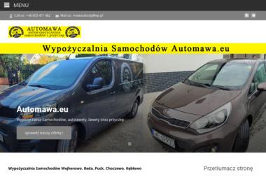Wypożyczalnia Samochodów Automawa.eu - Wypożyczalnia samochodów Kębłowo