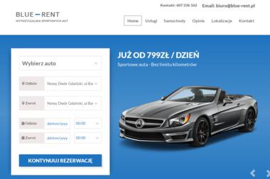 Blue-Rent - Wypożyczalnia samochodów Nowy Dwór Gdański