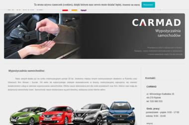 CARMAD - Wypożyczalnia samochodów Rybnik