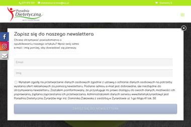 Poradnia Dietetyczna mgr inż. Dominika Żakowska - Dieta Odchudzająca Żyrardów