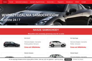 """P.H.U. """"FAST CAR"""" - Wypożyczalnia Aut Kielce"""