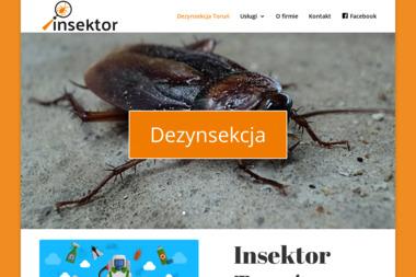 Insektor - Dezynsekcja i deratyzacja Toruń