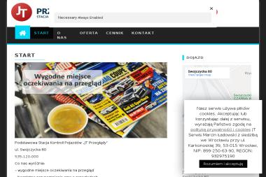 JT Przeglądy - Przeglądy i diagnostyka pojazdów Wrocław