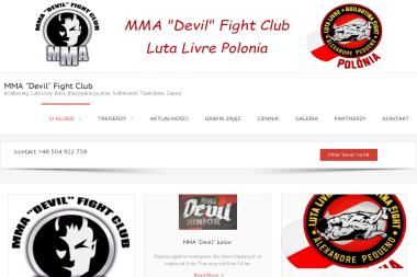 """MMA """"Devil"""" Fight Club - Sporty walki, treningi Poznań"""