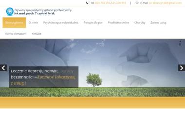 Prywatny specjalistyczny gabinet psychiatryczny Taczyński Jacek - Psycholog Bydgoszcz