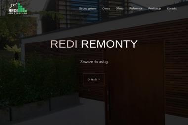 REDI Remonty - Zabudowa balkonu Police