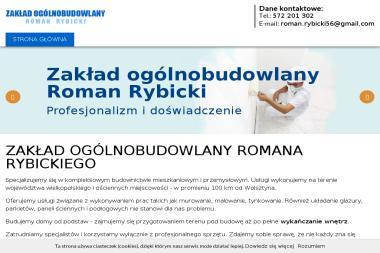 Zakład Ogólnobudowlany Roman Rybicki - Remonty Balkonów Wolsztyn