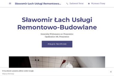 Sławomir Łach Usługi Remontowo-Budowlan - Zabudowa Balkonu Bezramowa Proszowice