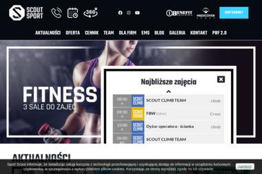 SCOUT SPORT - Trener personalny Częstochowa