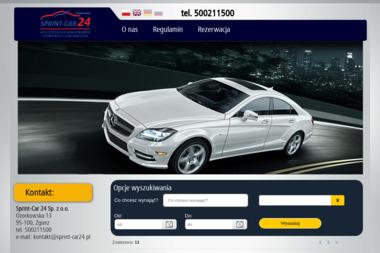 Sprint-Car 24 - Wynajem Samochodów Zgierz