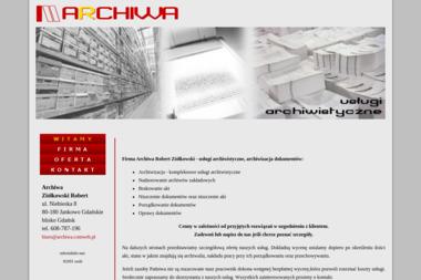 Archiwa - Niszczenie dokumentów Borkowo