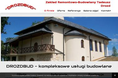 DROZDBUD - Zabudowa balkonu Rymanów-Zdrój