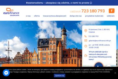 Eurofinance Oddział w Gdańsku - Ubezpieczenie firmy Gdańsk