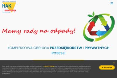 """Zakład Usług Komunalnych """"HAK"""" - Utylizacja Gruzu Piotrków Trybunalski"""